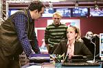 Jako novinářka Andrea Skopcová v seriálu Případy 1. oddělení.