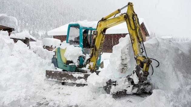 Rakousko sužuje silné sněžení.