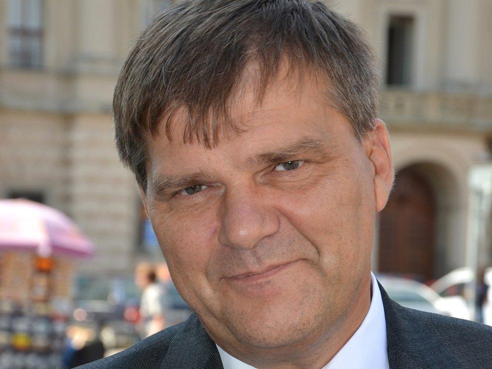 Český velvyslanec v Německu Rudolf Jindrák.