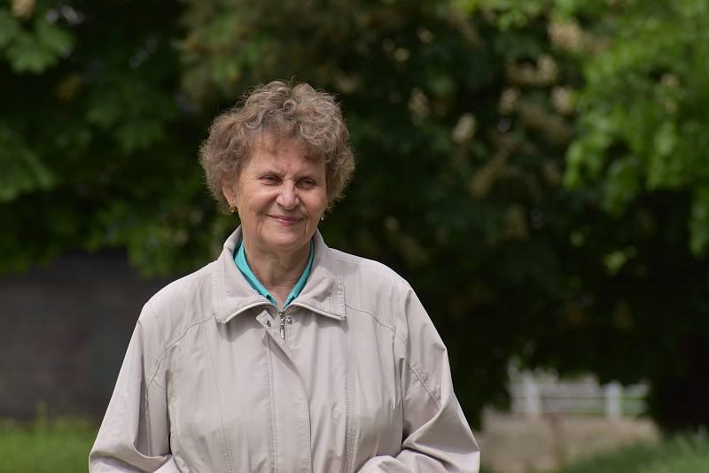 Seniorka z Ústí nad Labem Dagmar Škvárová