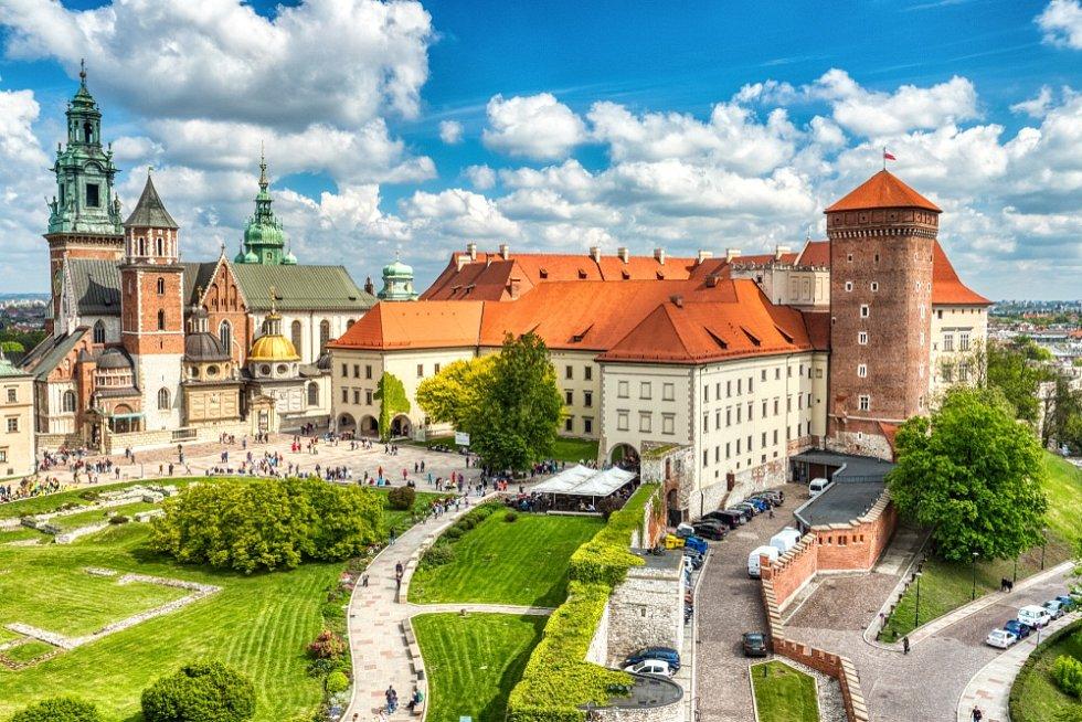 Krakov, hrad Wawel