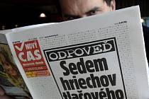 Slovenský parlament schválil k nevoli médií kontroverzní tiskový zákon.