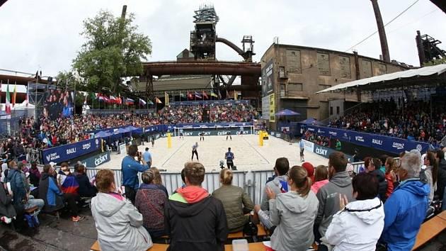 Beachvolejbalový turnaj v Ostravě