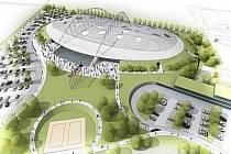 Utopie, nebo realita? Takhle by měl vypadat Národní bruslařský stadion ve Velkém Oseku.