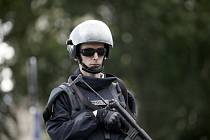 Francouzský policista. Ilustrační snímek