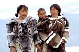 Tradiční oblečení Inuitů