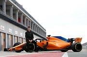 Testovací jezdec McLarenu pro sezonu 2018 Ruby van Buren