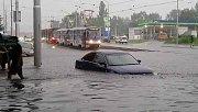 Bratislavu zasáhla potopa.