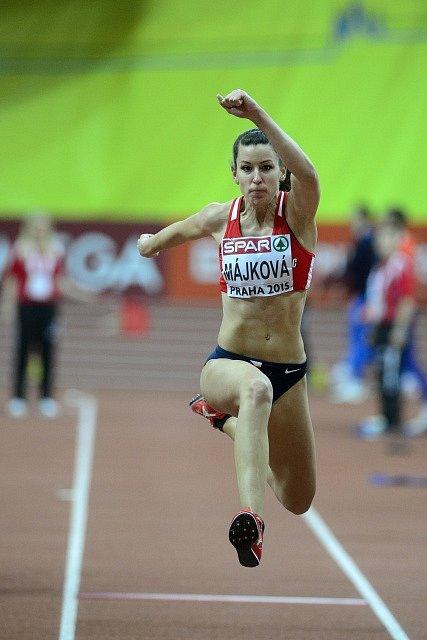 Trojskokanka Lucie Májková do finále neprošla.