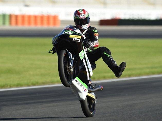 Jakub Kornfeil v GP Valencie.