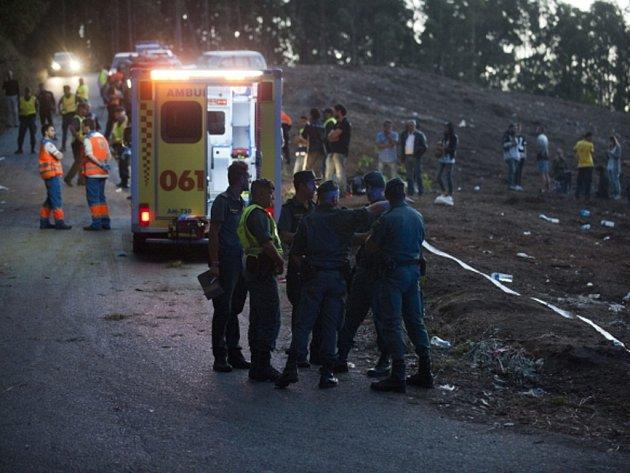 Tragická nehoda na Rallye La Coruni.