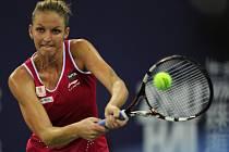 Karolína Plíšková na turnaji v Ču-chaj.