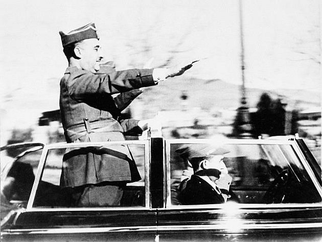 Francisco Franco, španělský diktátor