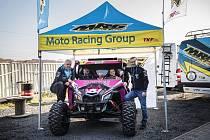 Ollie Roučková čeká premiéra na Rallye Dakar v kategorii SidexSide.