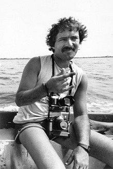 Dánský fotograf Fernando Pereira na fotografii svého kolegy Davida Robieho