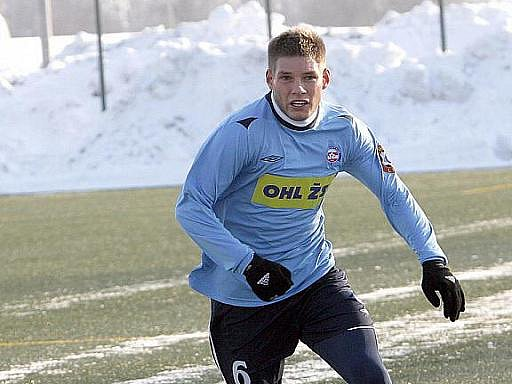 Slovenský fotbalista Martin Husár.