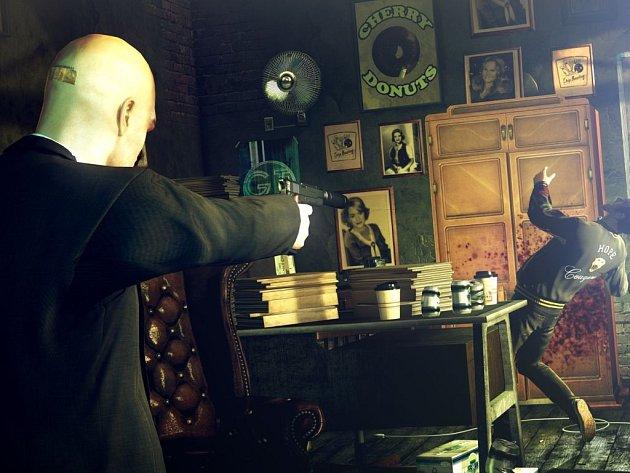 Počítačová hra Hitman Absolution.
