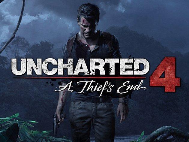 Konzolová hra Uncharted 4: A Thief's End.