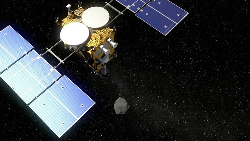 Vizualizace sondy Hajabusa 2
