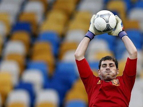 Iker Casillas v akci