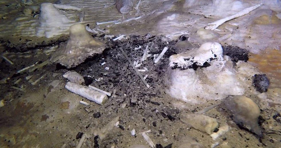 Bludiště ukrytá v hlubinách Mexického zálivu a Karibského moře skrývají řadu archeologických nálezů