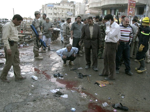 Sebevražedné atentáty v Iráku neubývají