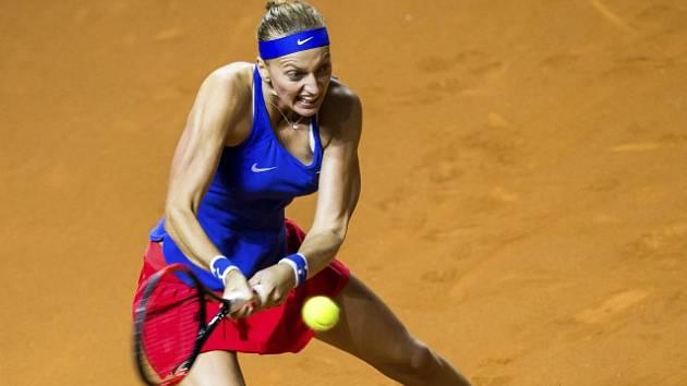 Petra Kvitová při Fed Cupu