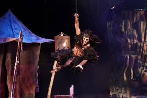 Muzikál Tarzan v Divadle Hybernia