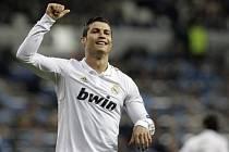 Kanonýr Realu Cristiano Ronaldo.