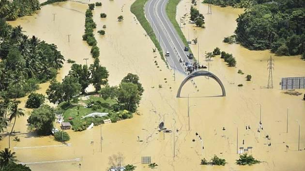 Povodně, Srí Lanka