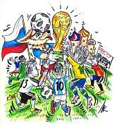Mistrovství světa ve fotbale.