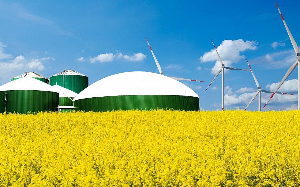 Ekologie, bioplynová stanice