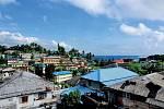Port Blair je typické tropické městečko. Až navýhledy namoře zRoof Restaurantu zde ale není moc důvodů zůstat déle.