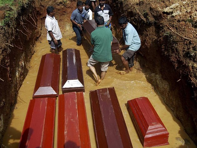 V pětadvacet let trvající válce na Srí Lance zahynulo nejméně sedmdesát tisíc lidí.