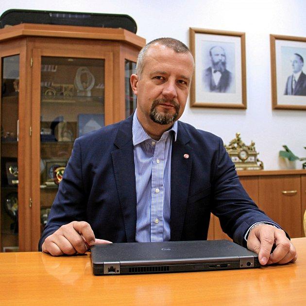 Petr Hendrych, ředitel obchodu a marketingu společnosti Tatra Trucks