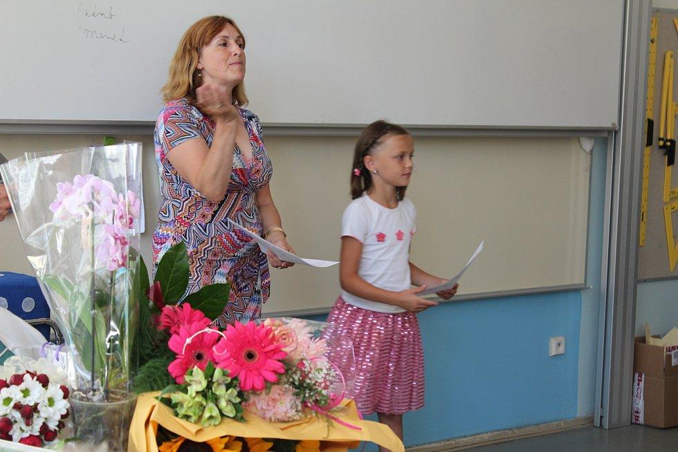 Vysvědčení na 7. základní škole Kolín