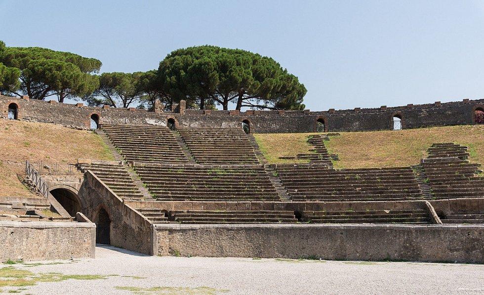 Amfiteátr v Pompejích