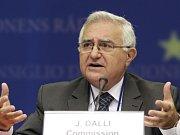 Eurokomisař pro zdraví a ochranu spotřebitelů John Dalli