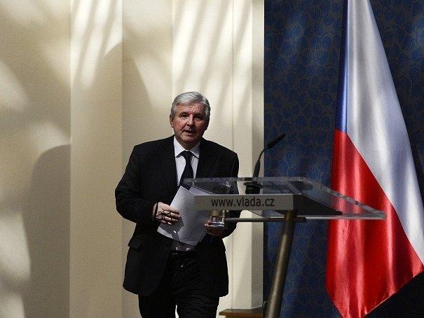 Premiér Jiří Rusnok