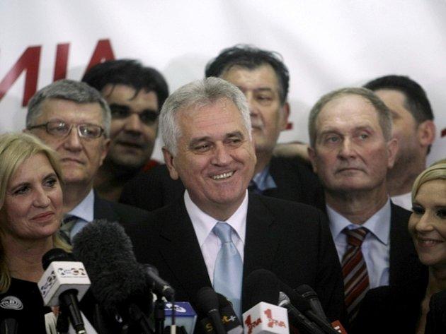 Novým srbským prezidentem se stane předák opozice Tomislav Nikolić.