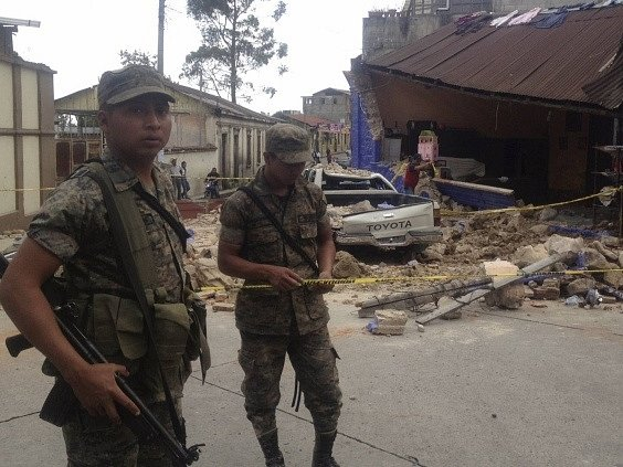 Guatemalu zasáhlo další silné zemětřesení