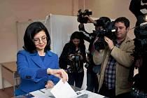 Prezidentské volby v Bulharsku.