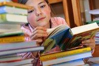 Děti a knihy.