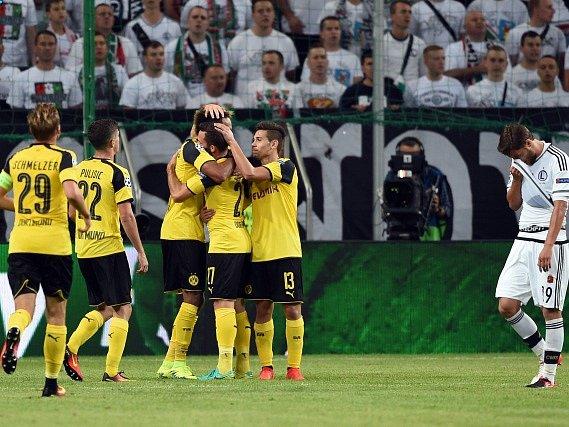 Dortmund vstoupil do Ligy mistrů drtivým vítězstvím