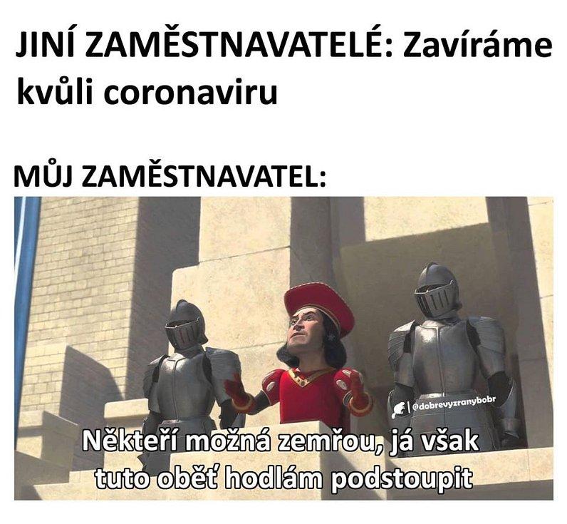Vtipy na koronavirus