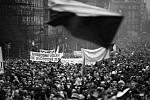 Poslední velká protirežimní demonstrace 28. 10. 1989