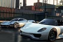 Počítačová hra Need For Speed: Most Wanted.