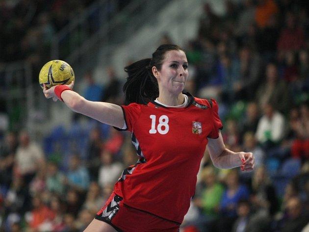 Iveta Luzumová se prosazuje proti Černé Hoře.