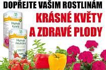 Dopřejte svým rostlinám krásné květy nebo zdravé plody BEZ CHEMIE.