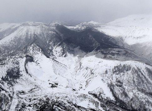 Japonská sopka Kusacu-Širane